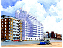 Proposed new development on Worthing Seafront